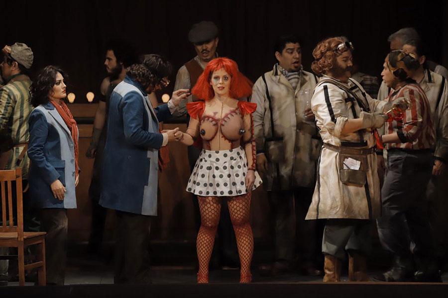 Los cuentos de Hoffmann, Ópera de Bellas Artes © Carlos Alvar